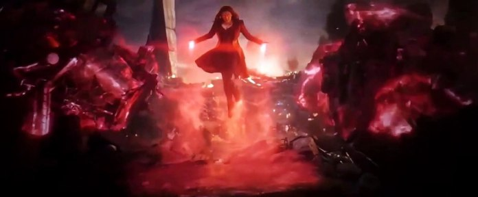 Fight Wanda Thanos 4
